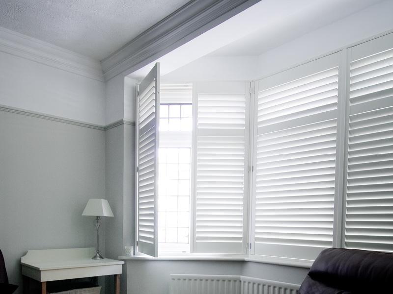 Custom made Window shutters - Shaws Interiors Oakham