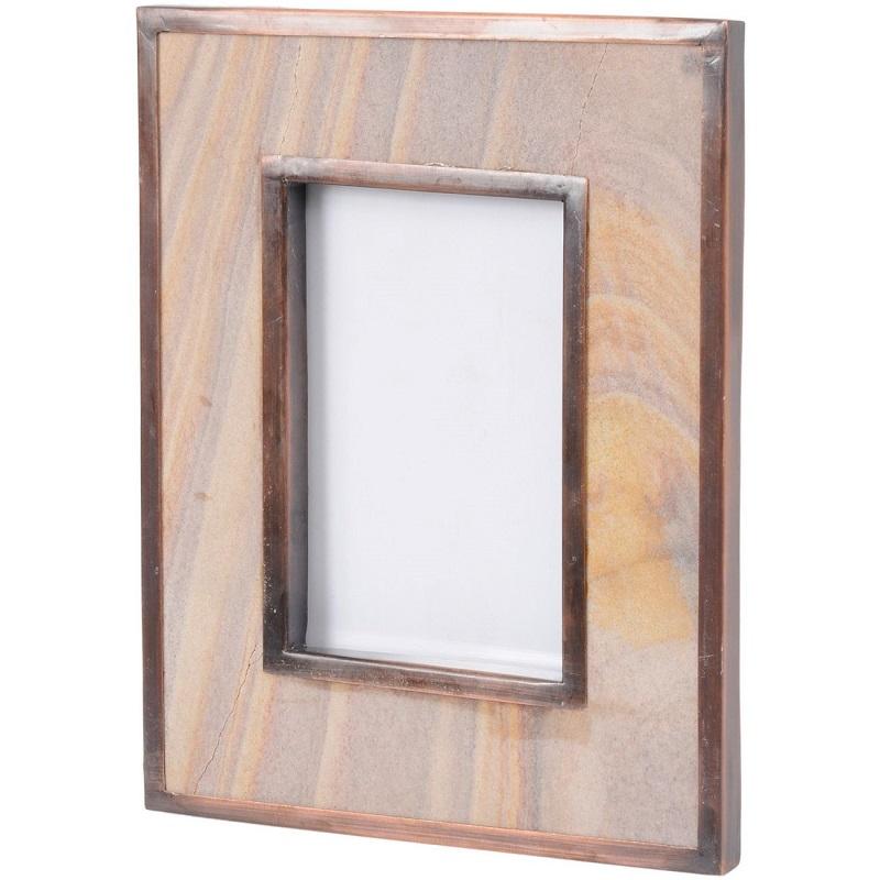 Alpina Sandstone Photo Frame 4x6-Shaws Interiors