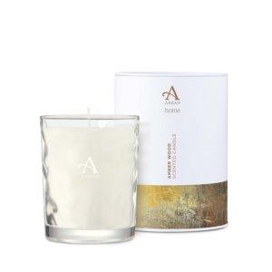 Arran, Amberwood 35cl Candle in Tin - Shaws
