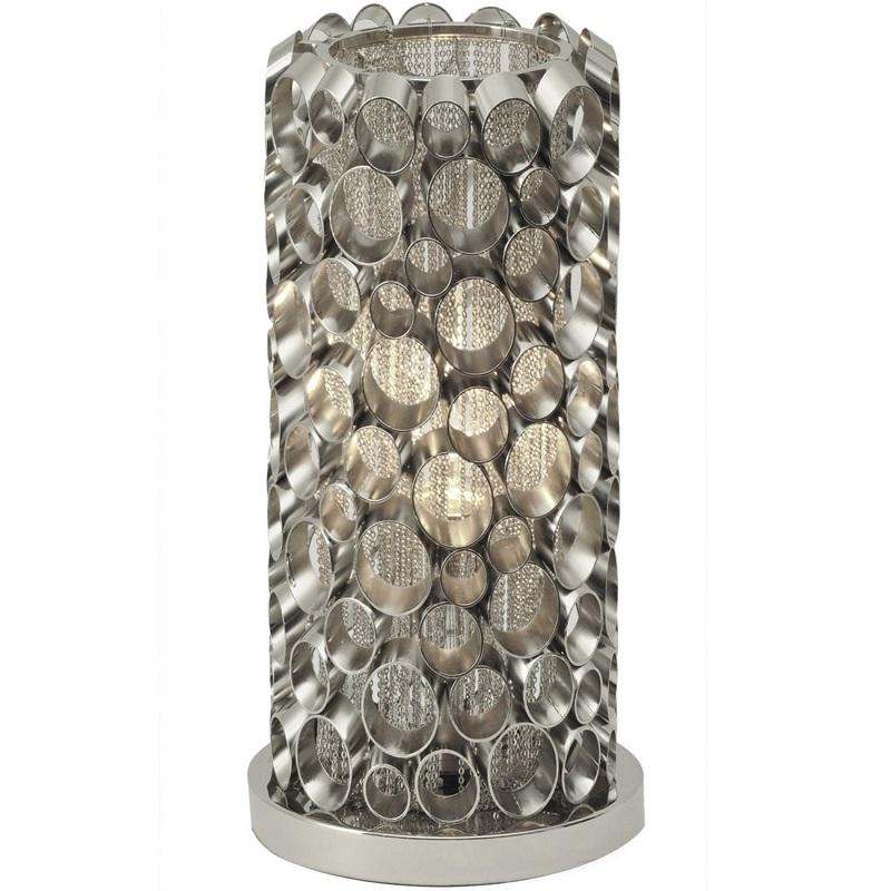 Cylindrical Table Lamp -Shaws Interiors Oakham