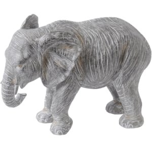 Elephant Resin Sculpture - Shaws Interiors