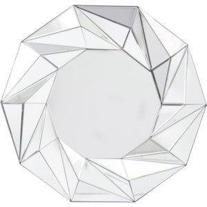 Geometric Wall Mirror-Shaws Interiors