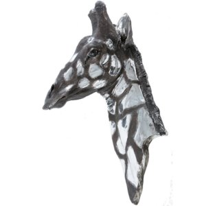Giraffe Head - Shaws Interiors
