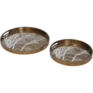 Gold Trays-Shaws Interiors