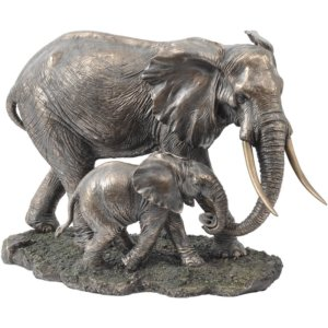 Mother & Baby Sculpture -Shaws Interiors